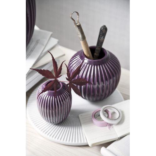 Keramická váza Hammershøi Plum 12,5 cm