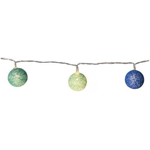 Dekorativní svítící řetěz Blue Lights