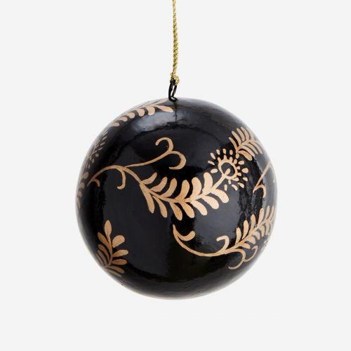 Vánoční baňka Handprinted Paisley
