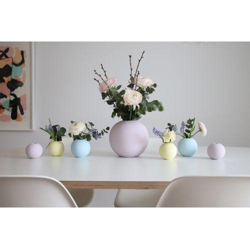 Kulatá váza Ball Lilac 20cm