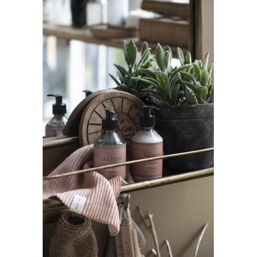Malý pletený ručník ALTUM Salomon Rose