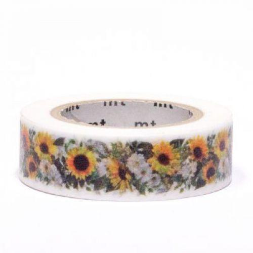 Designová samolepící páska Sunflower