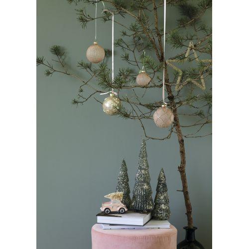 Vánoční baňka Elisabeth Nude Glitter