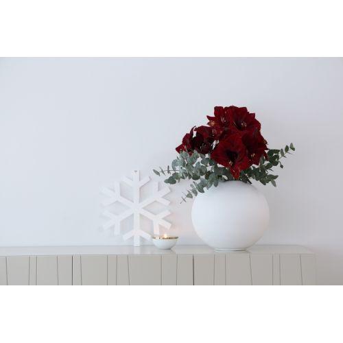 Kulatá váza Ball White 30 cm