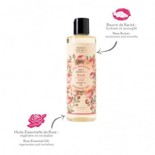 Omlazující sprchový gel - růže