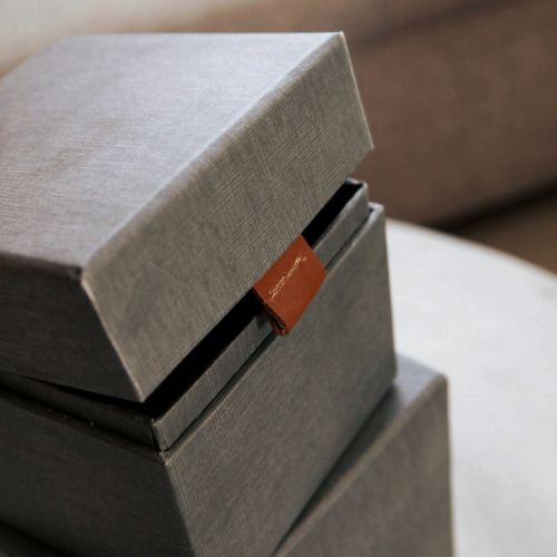 Úložný box Dark grey/Beige