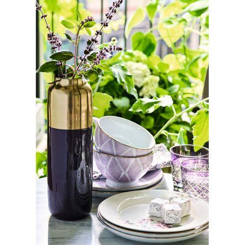 Porcelánový talíř Kassandra lavendar