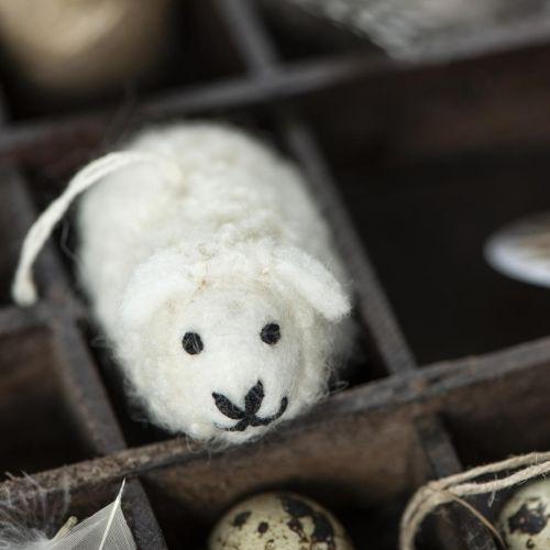Vlněná závěsná dekorace ovečka Easter Lamb - větší