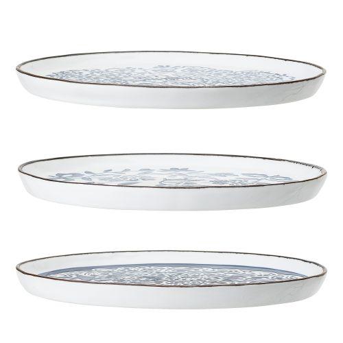 Keramický obědový talíř Molly Blue Plate 24 cm
