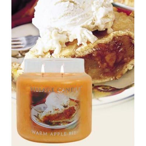 Svíčka ve skle Warm apple pie - malá