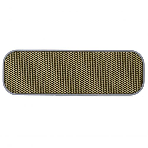 Bluetooth reproduktor aGROOVE Cool grey/Gold