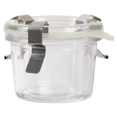 Zavařovací sklenička s klipsy 60ml