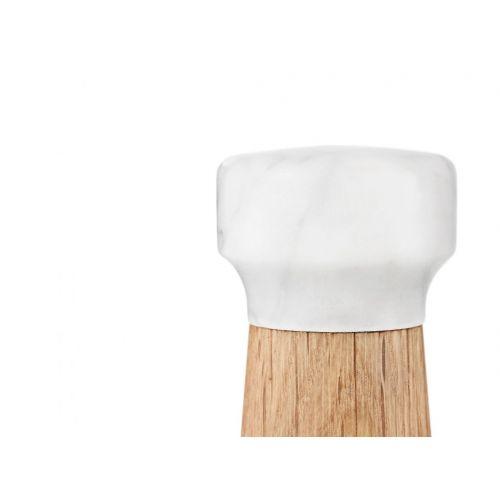 Mlýnek na sůl White marble