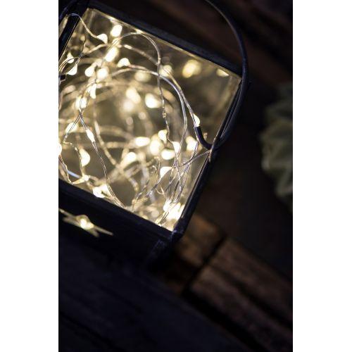 Světelný LED drátek pro venkovní použití 4m