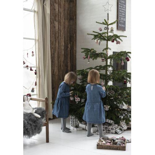 Řetěz s textilními ozdobami My Nostalgic Christmas