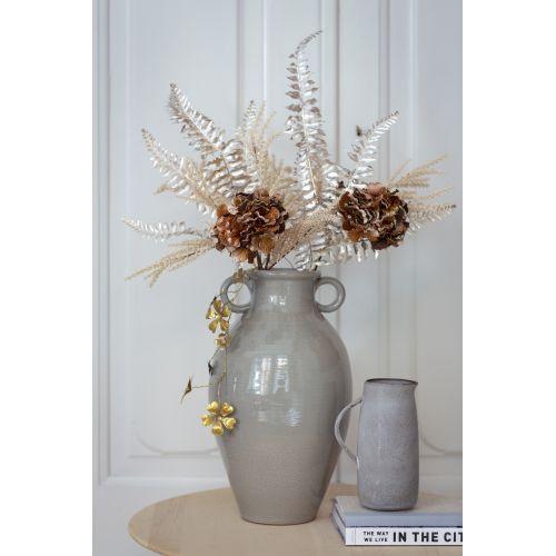 Umělé dekorativní květy Oat Branch Creme