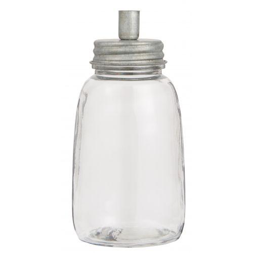Dóza se svícnem Bottle Zinc