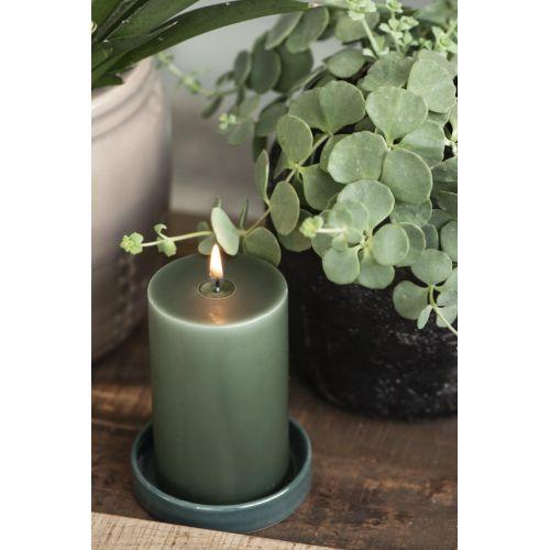 Svíčka Deep Green 10 cm