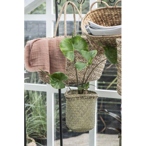 Závěsný bambusový košík String