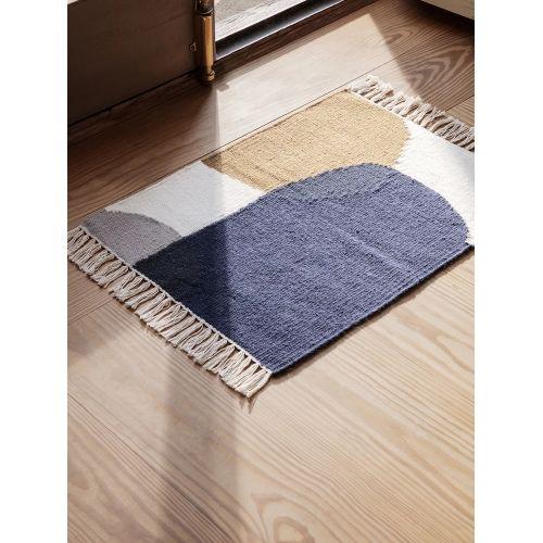 Vlněný koberec Kelim Mat Merge 50 x 70 cm