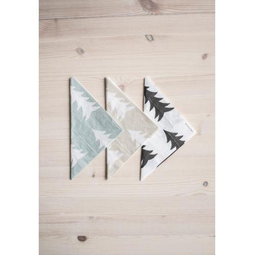 Papírové béžové ubrousky Gran