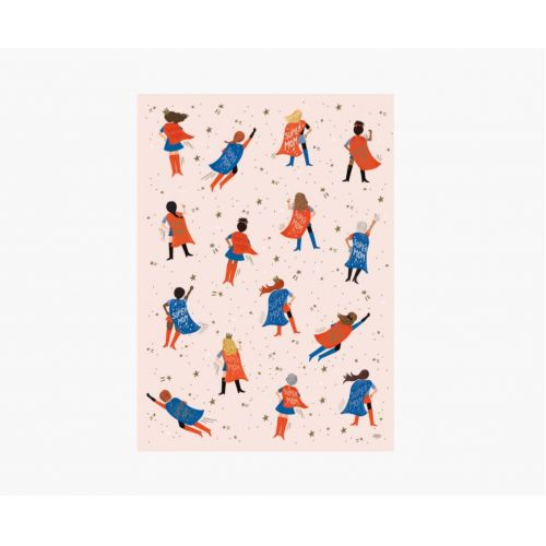 Balicí papír Super Mom - Set 3 archů