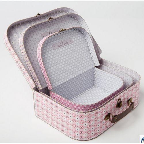 Kufřík Retro Daisy - 3 velikosti