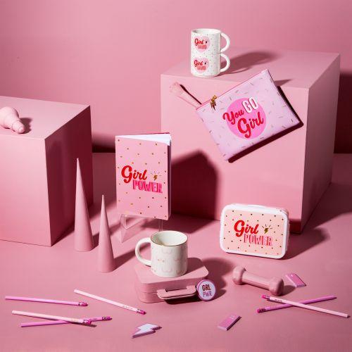 Sada porcelánových hrnků Girl Power