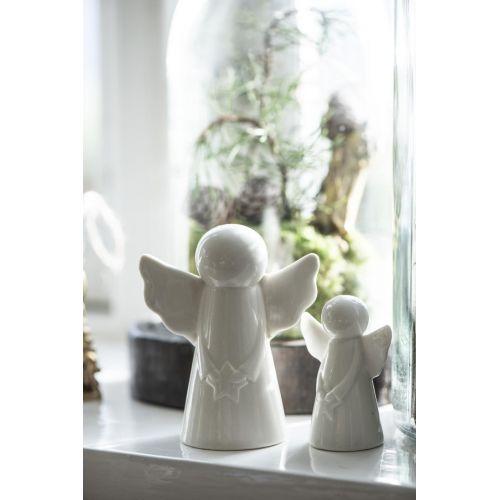 Porcelánový anděl Angel Star 10 cm