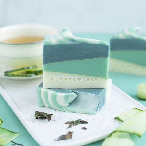 Přírodní mýdlo Green Tea Cucumber