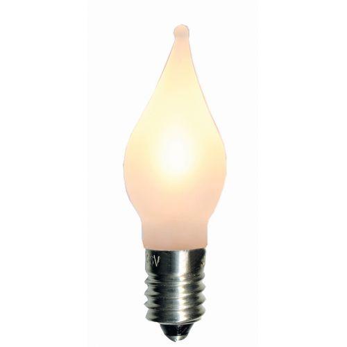 Náhradní LED žárovka-plamínek E10 0,2 W - 3 ks