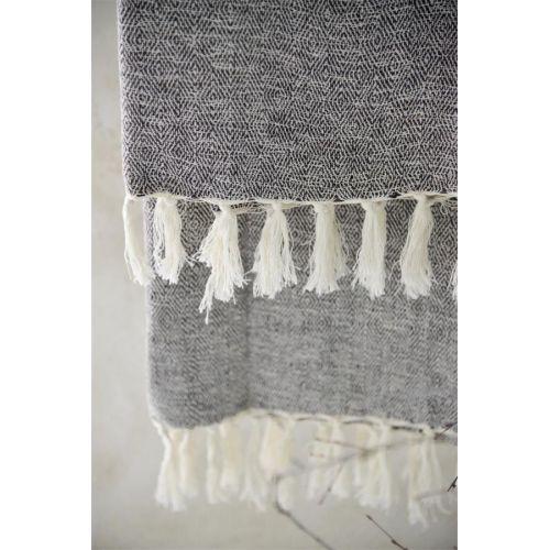 Osuška z recyklované bavlny Brown 100x200 cm