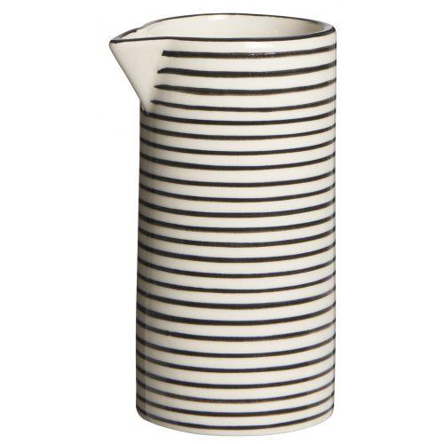 Džbánek Casablanca black stripe 200 ml