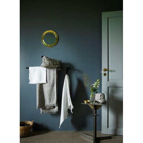 Bílý ručník Fringes 30x50 cm