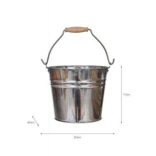 Plechový kyblík Steel 4,5l