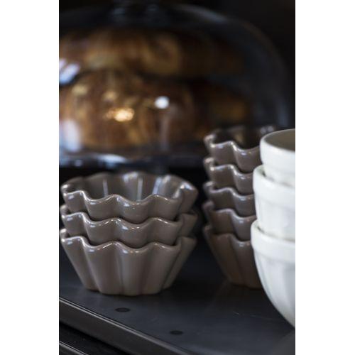 Keramická forma na muffiny Mynte milky brown