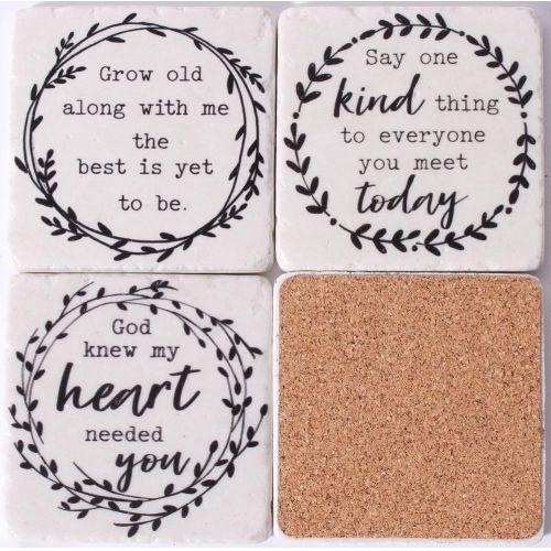 Kamenné podtácky Inspiring Quotes