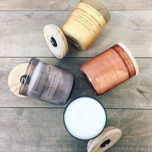 Vonná svíčka ve skle Lemongrass and Coconut Milk 500g