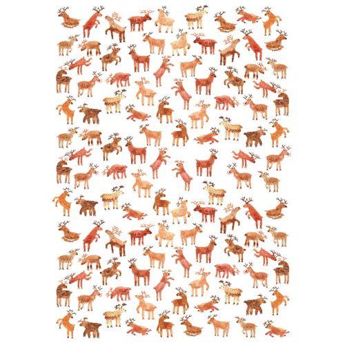 Balicí papír Reindeer