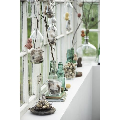 Závěsná váza Bottle Wire 1 l