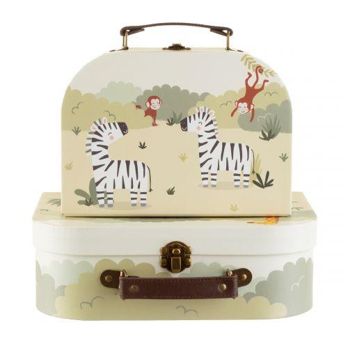 Sada dětských kufříků Safari 2ks