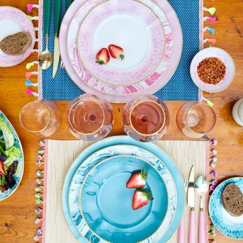 Porcelánový talíř Jade ⌀ 23 cm