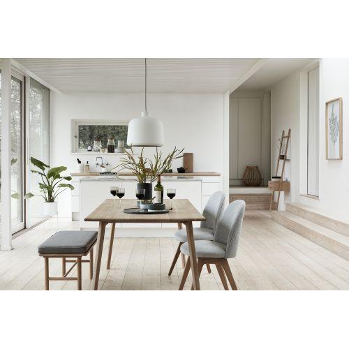 Betonová dóza s dřevěným víčkem Grey & Nature