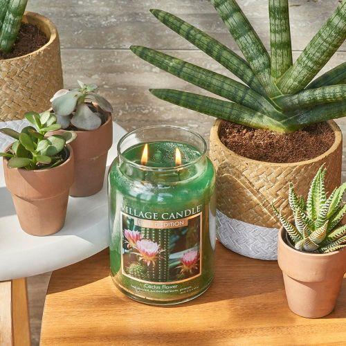 Svíčka Village Candle - Cactus Flower 602g