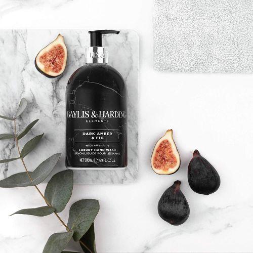 Tekuté mýdlo na ruce Dark amber & Fig 500ml