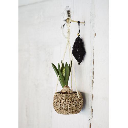 Závěsný obal na květináč Hanging Basket Seagrass
