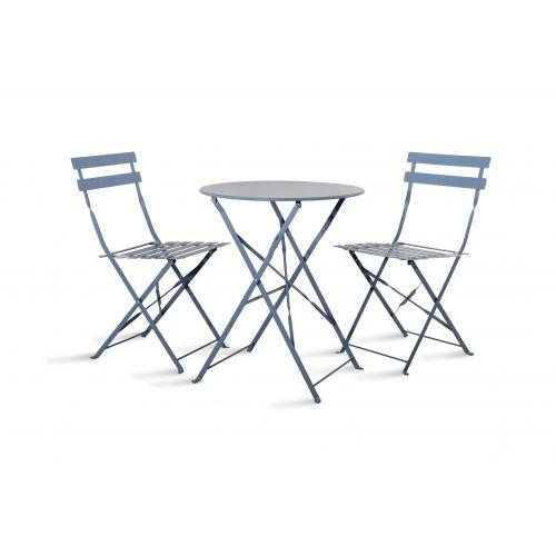 Zahradní set stolku s židlemi Dorset blue