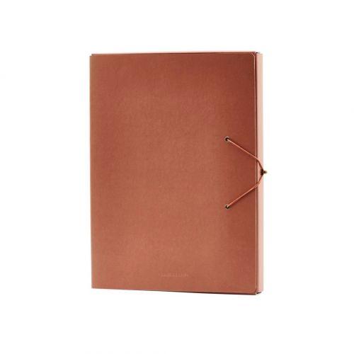 Papírová složka na dokumenty Cognac