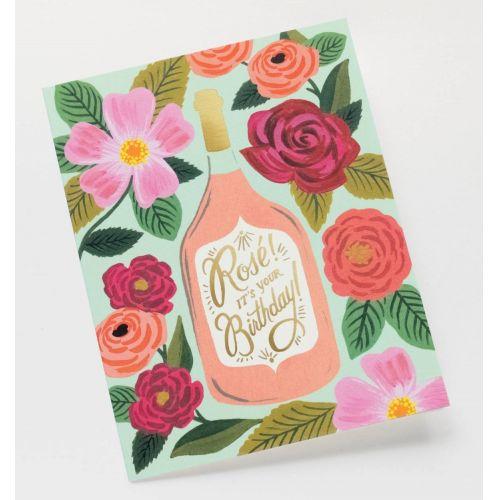 Přání s obálkou Rosé It's Your Birthday