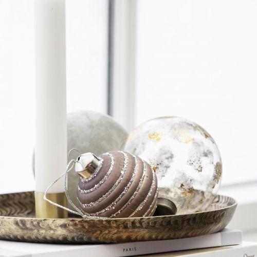 Vánoční baňka Spiral